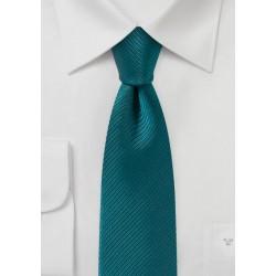 Light Teal Blue Skinny Tie