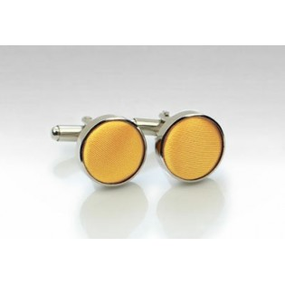 Lemon Yellow Cufflinks