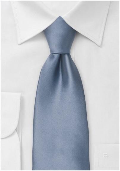Slate Blue Kids Necktie