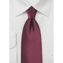 Rosewood Hued XL Mens Tie