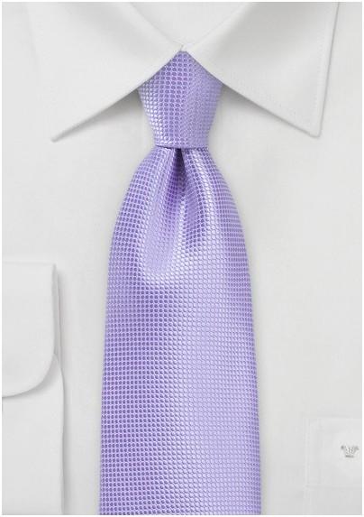 Kids Tie in Violet Tulip
