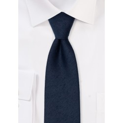 Modern Midnight Woolen Necktie