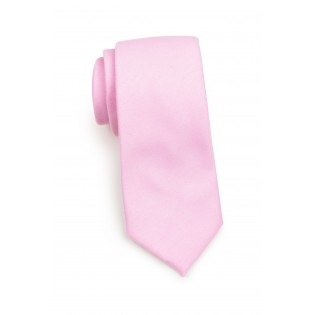 Tickled Pink Spring and Summer Necktie Rolled