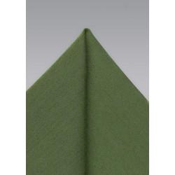 Olive Green Mens Hanky