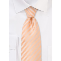 Peach Color Kids Necktie