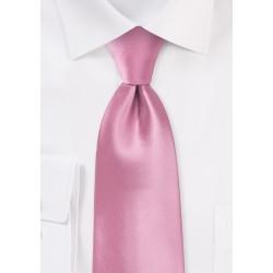 Pink men's ties - Solid color pink tie