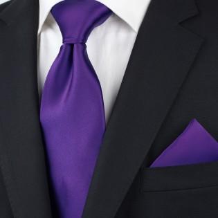 Regency Purple Tie Styled