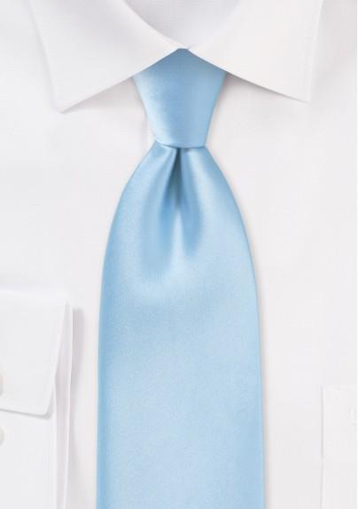 Extra long ties - Light blue XL necktie