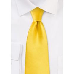 Solid Tie in Bright Sun Yellow