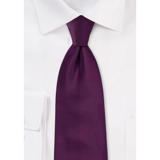 Bright Purple Necktie