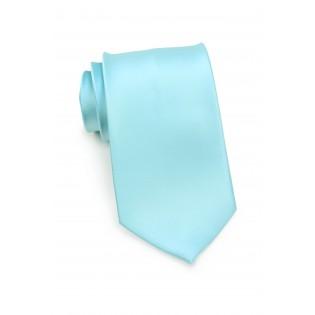 Light Turquoise Blue Necktie