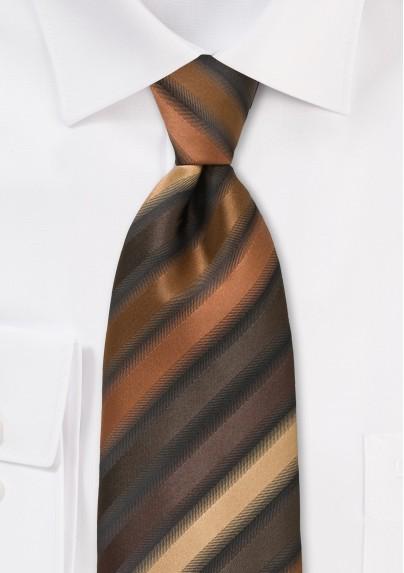 Vintage Inspired Brown Necktie