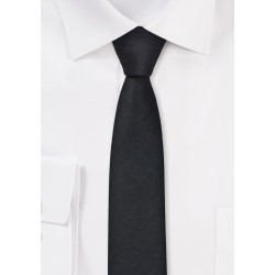 Ultra Skinny Tie in Black
