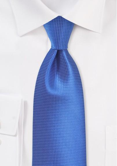 Nautical Blue Textured Kids Tie