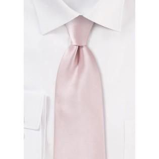 Elegant Men's Tie in Blush