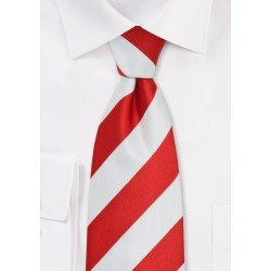 Candy Cane Striped Necktie