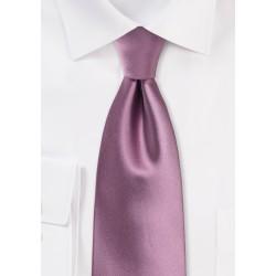 Purple Rose Colored Tie