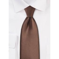 Mocha Brown Necktie