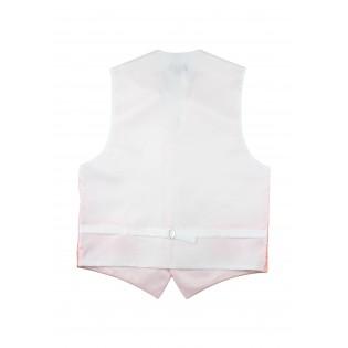 Wedding Paisley Vest in Bellini Back