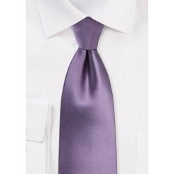 Wisteria Colored Necktie