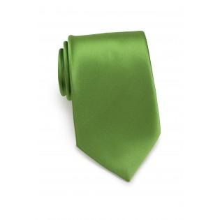 Fern Green Tie in XL Length