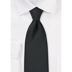 Matte Pique Textured Necktie