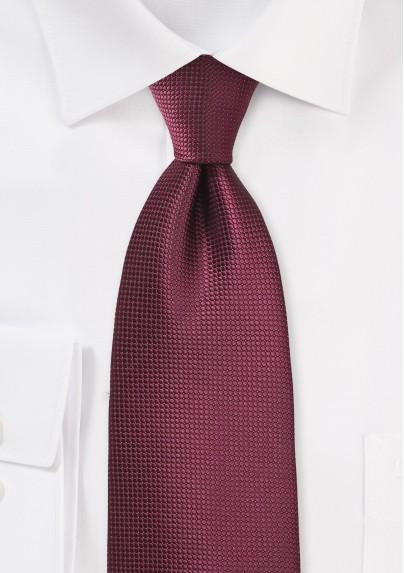 Rosewood Hued Kids Necktie
