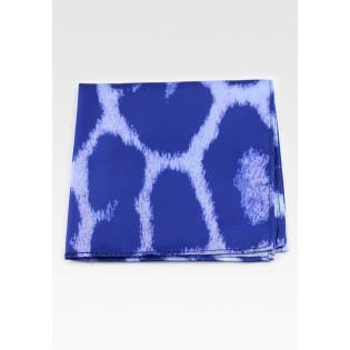 Tie Dye Leopard Print Hanky