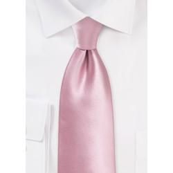 Solid Necktie in Dusty Rose