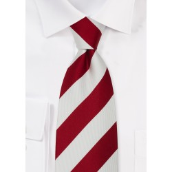 """Extra Long Striped Ties - Striped Tie """"Lighthouse"""" by Parsley"""