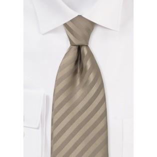Kids Light Brown Necktie