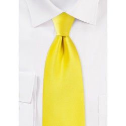 Canary Yellow Necktie