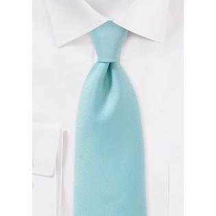 Pale Aqua Blue Necktie