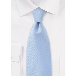 Textured Tie in Light Blue