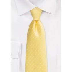 Polka Dot Tie in Dark Yellow