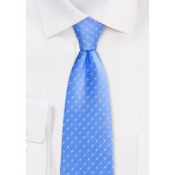 Sky Blue Polka Dot Tie