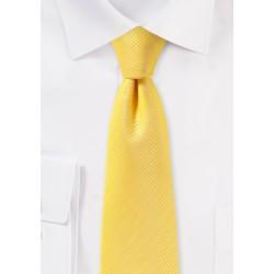 Canary Yellow Skinny Tie
