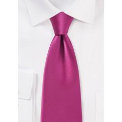 Vibrant Fuschia Necktie