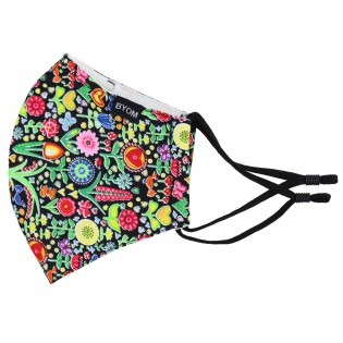 Summer Print Filter Mask in Pure Cotton