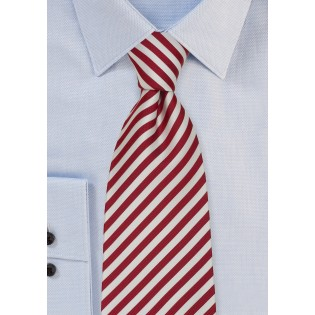 "Striped Silk Ties - Striped Tie ""Signals"" by Parsley"