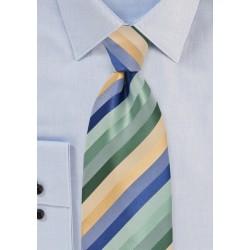 Striped Tie in Pastels