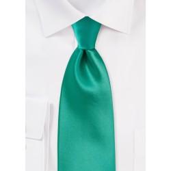 Bright Jade Green Necktie