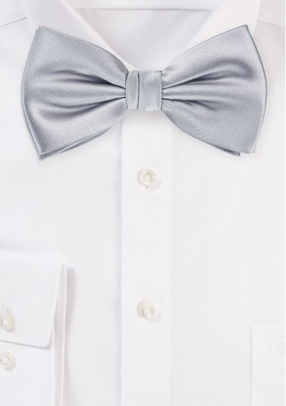 Formal Bow Tie in Solid Silver