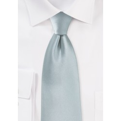 Dove Gray Color Tie