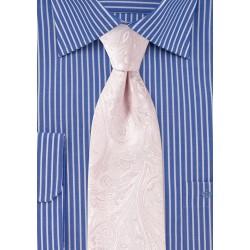 Paisley Tie in Bridal Pink