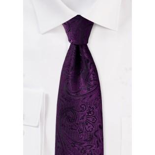 Paisley Tie in Berry