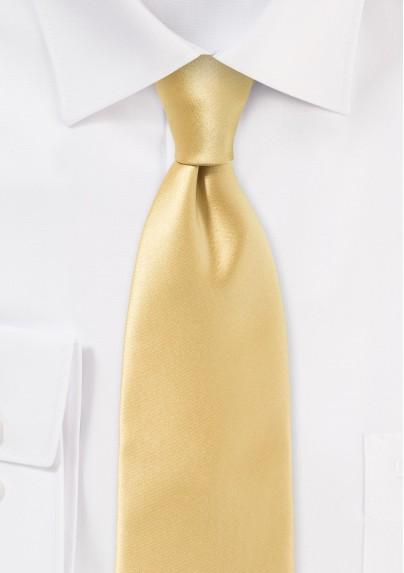 Contemporary Cut Maize Necktie