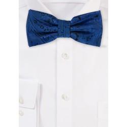 Elegant Royal Paisley Bow Tie
