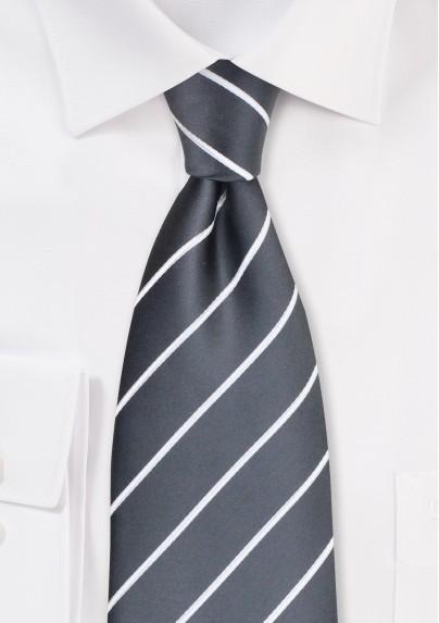 Classic Neckties - Taupe gray men's tie