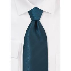 Dark Teal Blue Mens Tie